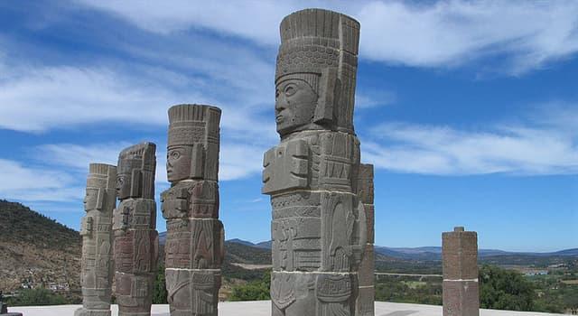 Cultura Pregunta Trivia: ¿En qué estado de la República Mexicana se encuentran los Atlantes de Tula?