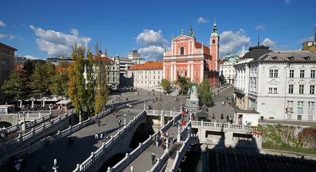 Geografía Pregunta Trivia: ¿En qué país se encuentra la ciudad de Liubliana?