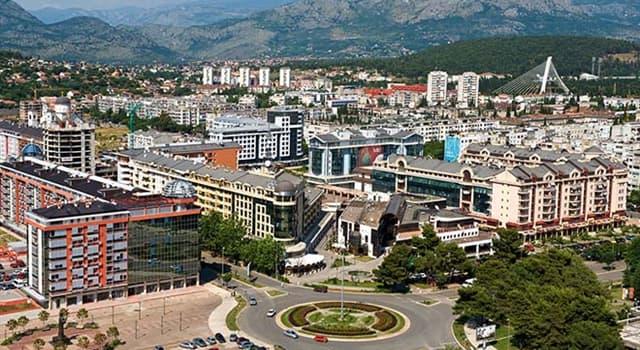 Geografía Pregunta Trivia: ¿En qué país se encuentra la ciudad de Podgorica?