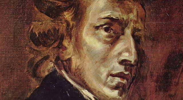 Sociedad Pregunta Trivia: ¿En qué año nació el músico Frédéric Chopin?