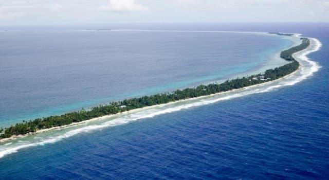 Geografía Pregunta Trivia: ¿Qué es un atolón?