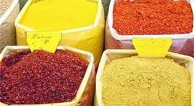 Cultura Pregunta Trivia: ¿Qué especia cara contiene crocina y da un color amarillo a la comida?