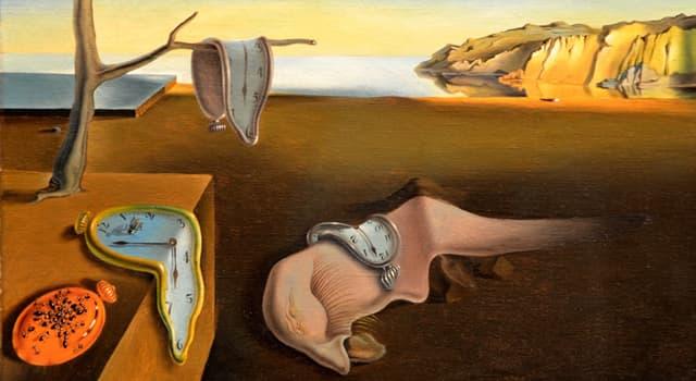 """Cultura Pregunta Trivia: ¿Qué famoso pintor surrealista creó el cuadro """"La Persistencia de la Memoria""""?"""
