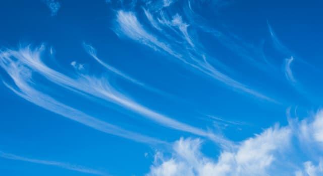 Сiencia Pregunta Trivia: ¿Qué tipo de nubes son las que aparecen en la imagen?