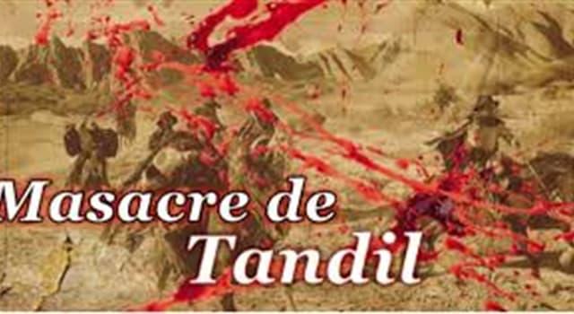 """Historia Pregunta Trivia: ¿Quiénes fueron víctimas de la denominada """"Masacre de Tandil"""" ocurrida en Argentina en 1872?"""