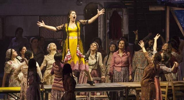 Cultura Pregunta Trivia: Recientemente el director Leo Muscato escandalizó al mundo artístico introduciendo  un osado cambio en el libreto de una famosa ópera. ¿Qué cambió?