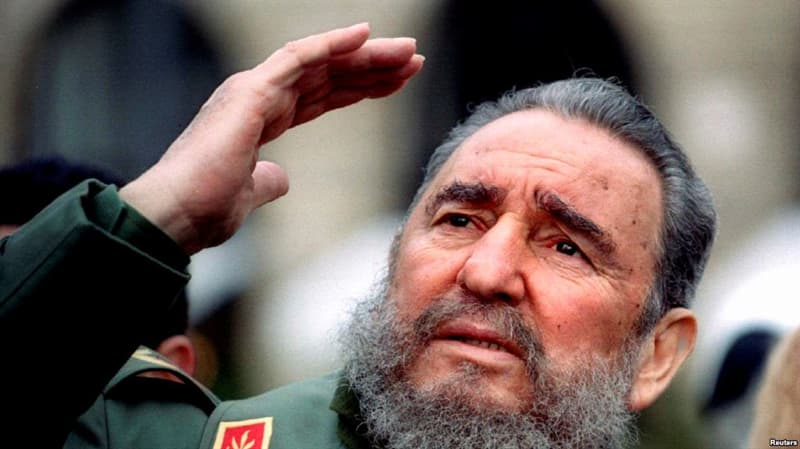 Історія Запитання-цікавинка: Керівником якої країни був Фідель Кастро?