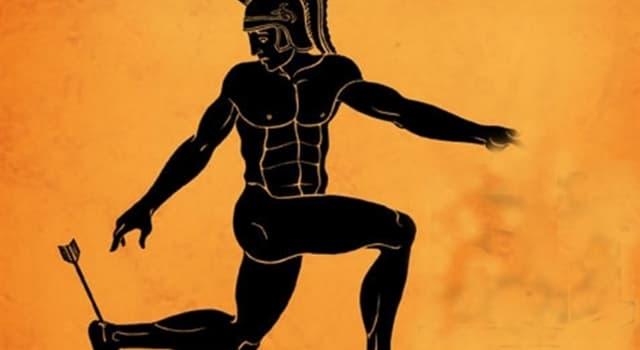 Cultura Pregunta Trivia: ¿Según la mitología griega, quién hirió a Aquiles en el talón con una flecha envenenada?