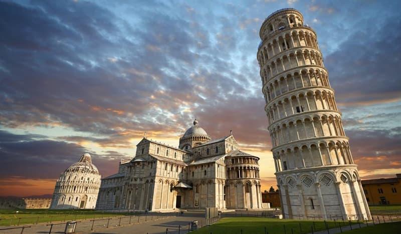 Geografia Pytanie-Ciekawostka: W którym kraju znajduje się Krzywa Wieża w Pizie?