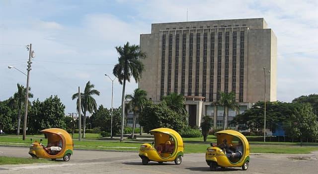"""Geografia Pytanie-Ciekawostka: W jakim kraju jesteś, jeśli korzystasz z """"Coco taxi""""?"""