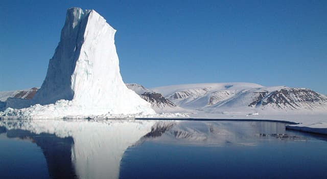 Geografía Pregunta Trivia: ¿A qué países pertenece la Bahía de Baffin?