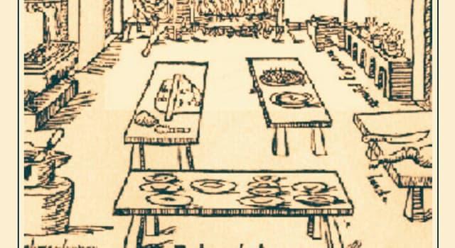 """Historia Pregunta Trivia: ¿A quién se le atribuye el """"Codex Romanoff"""", manual medieval de buenas costumbres en la mesa?"""