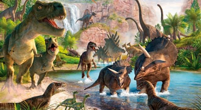 Naturaleza Pregunta Trivia: ¿Cómo son denominados los dinosaurios más grandes de tierra firme?