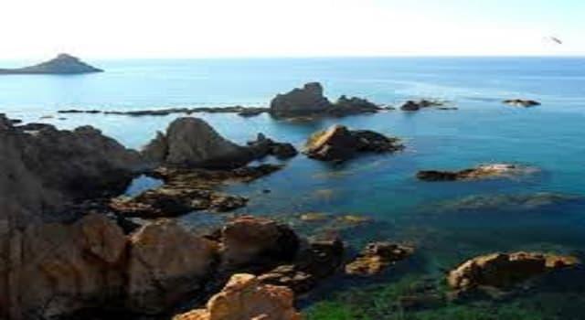 Geografía Pregunta Trivia: ¿Cómo se llama el accidente geográfico que está formado por pequeñas islas de roca que se asoman en el océano?