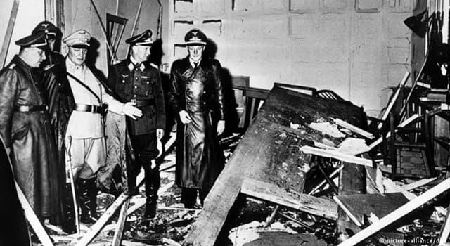 Historia Pregunta Trivia: ¿Cómo se llamaba el conde y militar alemán que organizó el complot del 20 de julio de 1944 contra Adolf Hitler?