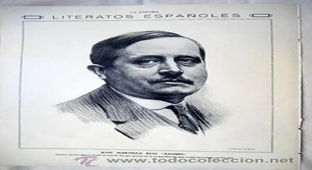 Sociedad Pregunta Trivia: ¿Con qué seudónimo era conocido José Martínez Ruiz?