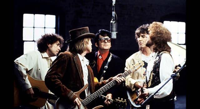 """Cultura Pregunta Trivia: ¿Cuál de estos músicos no formó parte del supergrupo """"The Traveling Wilburys""""?"""
