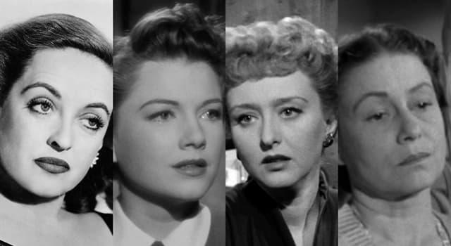 """Películas Pregunta Trivia: ¿Cuál de las siguientes actrices interpretó a Eve, en la película """"All about Eve""""?"""