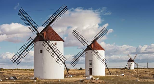 Geografía Pregunta Trivia: ¿Cuál de las siguientes poblaciones manchegas no es famosa por sus molinos de viento?