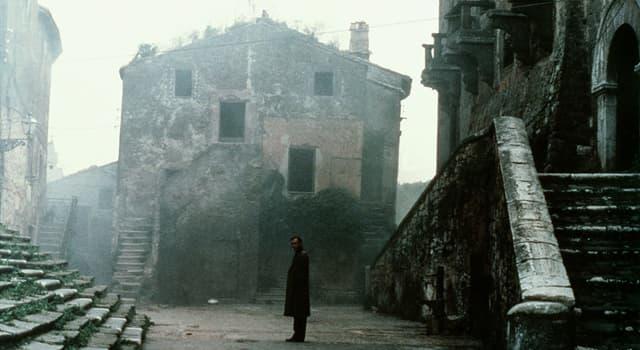 Películas Pregunta Trivia: ¿Cuál de los siguientes directores, dirigió la película Nostalgia, estrenada en 1983?