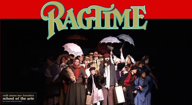 Historia Pregunta Trivia: ¿Cuál es el compositor más popular del ragtime?