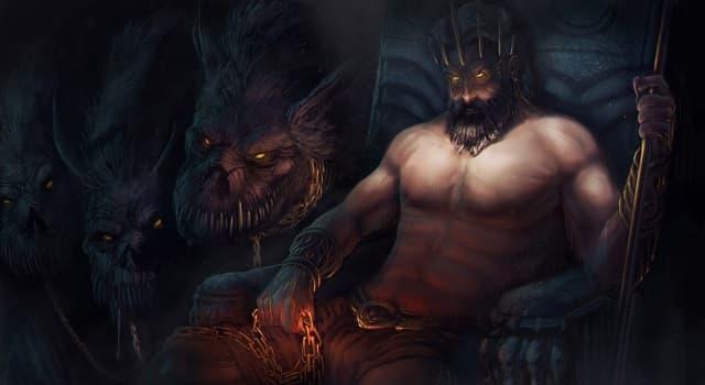 Cultura Pregunta Trivia: ¿Cuál es el nombre del dios griego del inframundo?