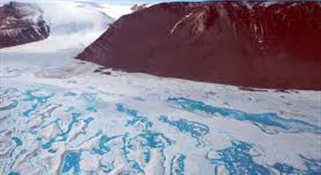 """Geografía Pregunta Trivia: ¿Cuál es el nombre del glaciar más grande del mundo, registrado en el """"Libro Guiness de los Records""""?"""