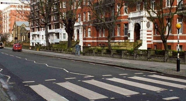 Cultura Pregunta Trivia: ¿Cuál es el orden correcto en la portada de Abbey Road, el Disco de The Beatles?