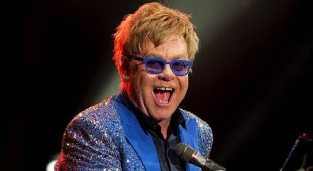 Películas Pregunta Trivia: ¿Cuál es el verdadero nombre del cantante Elton John?