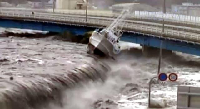 Сiencia Pregunta Trivia: ¿Cuál es la causa de los tsunamis?