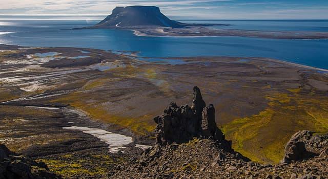 Geografía Pregunta Trivia: ¿Cuál son las islas de Europa más cercana al Polo Norte?
