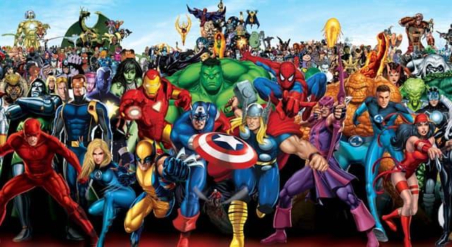 Películas Pregunta Trivia: ¿Cuál fue el primer superhéroe de Marvel Cómics?