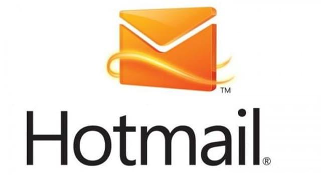 Sociedad Pregunta Trivia: ¿Cuándo fue lanzado comercialmente Hotmail?