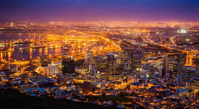Geografía Pregunta Trivia: ¿Cuántas capitales tiene la República de Sudáfrica?
