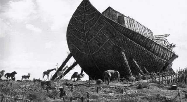 Cultura Pregunta Trivia: ¿Cuántas parejas de cada animal hizo subir Noé al arca, según Génesis Cap 7?