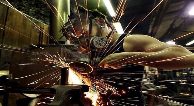 Сiencia Pregunta Trivia: ¿De qué material son los discos de las sierras para cortar metal?