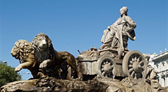 Geografía Pregunta Trivia: ¿Dónde se encuentra la fuente de Cibeles?