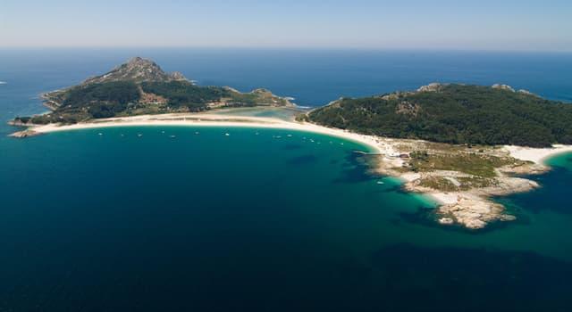 Geografía Pregunta Trivia: ¿En dónde situarías las islas Cíes?