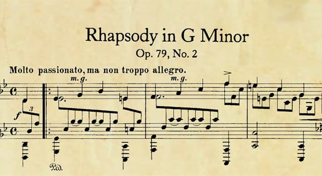 Cultura Pregunta Trivia: En el ámbito musical ¿Qué es una rapsodia?