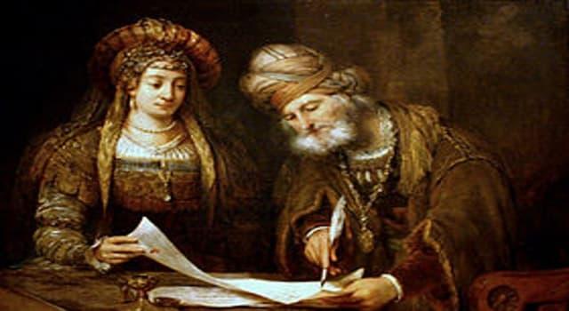 Cultura Pregunta Trivia: En la biblia, en el libro de Ester ¿Cuál es el nombre original de la reina Ester?