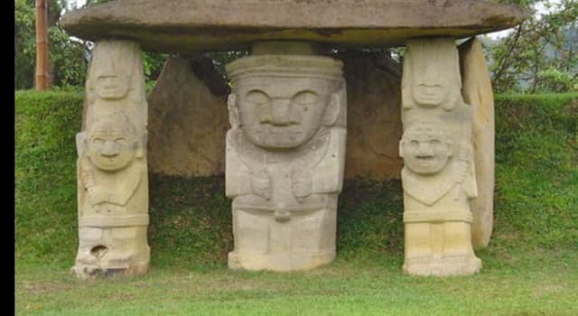 Cultura Pregunta Trivia: ¿En qué país está ubicado el parque arqueológico de San Agustín?