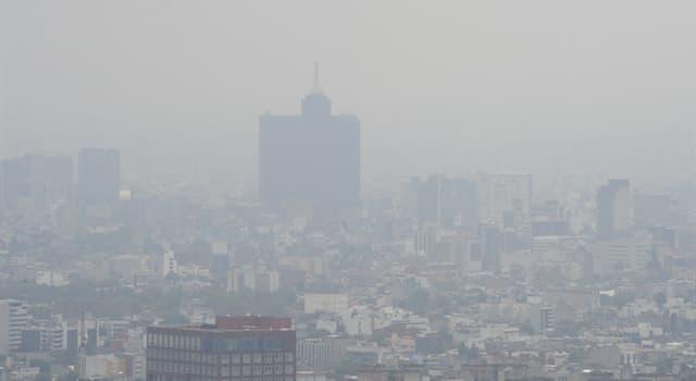 Cultura Pregunta Trivia: ¿En qué país, según la OMS, está la ciudad más contaminada por partículas finas?