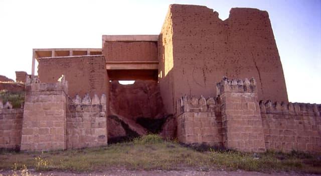 Geographie Wissensfrage: In welchem modernen Staat befinden sich die Ruinen der antiken Stadt Ninive?