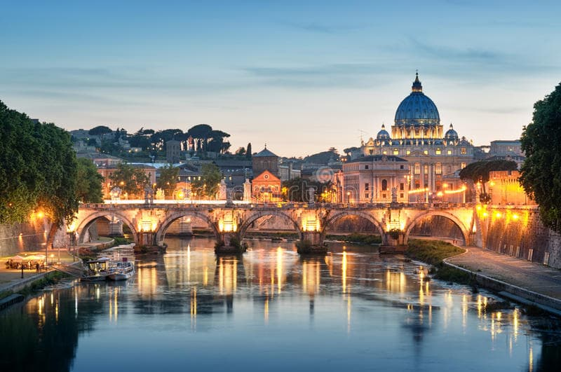 Географія Запитання-цікавинка: Яка річка протікає через Рим?