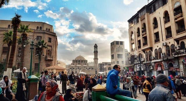 Geografia Pytanie-Ciekawostka: Jakie miasto jest stolicą Egiptu?