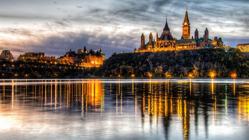 Географія Запитання-цікавинка: Яке місто є столицею Канади?