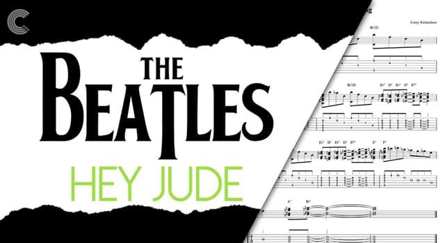 """Sociedad Pregunta Trivia: ¿Para qué persona Paul Mc Cartney escribió la canción """"Hey Jude"""" ?"""