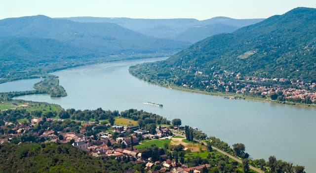 Geografía Pregunta Trivia: ¿Por cuántos países discurre el Danubio?