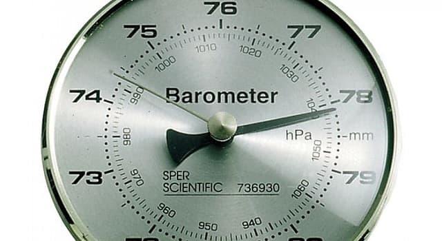 Сiencia Pregunta Trivia: ¿Qué mide un barómetro?