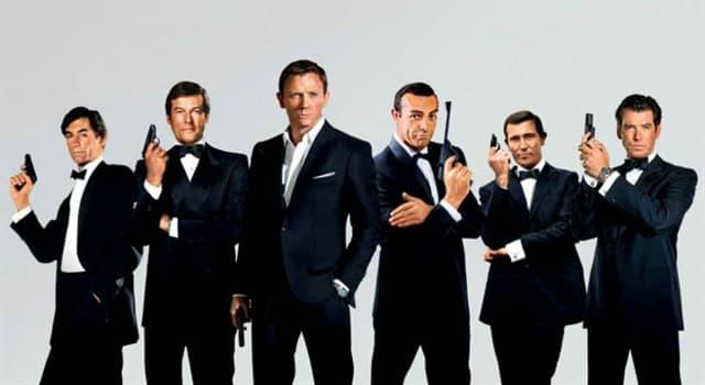 Películas Pregunta Trivia: ¿Qué actor interpretó más películas de James Bond?
